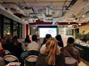 Sourcing Playground SOGAL pitch night WeWork Labs